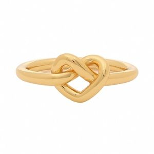 KATE SPADE • Loves Me Knot Ring • Gold